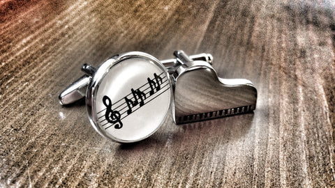 The Pianist Cufflinks