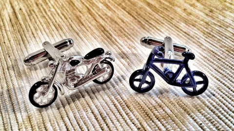 Bicycle or Motorbike Cufflinks