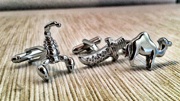 Nomad, Terrorist or Explorer Cufflink Set
