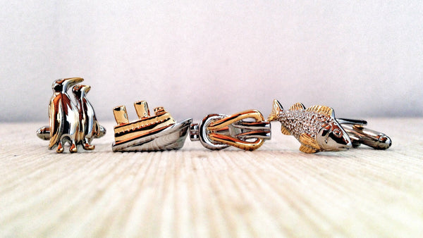 Fishermen Cufflink Set