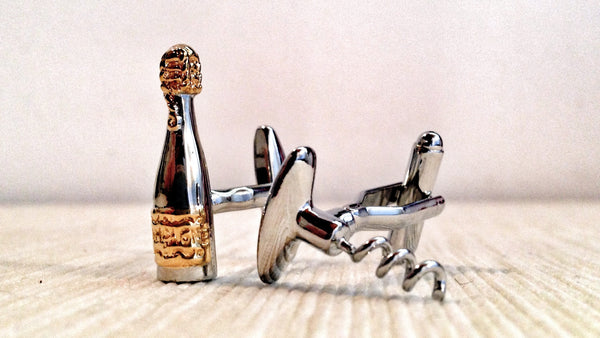 Bottles and Models Cufflinks