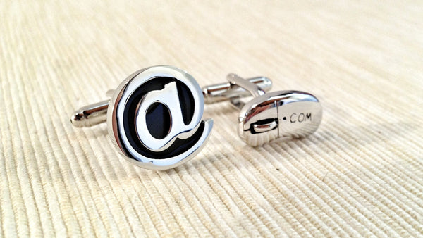 (Internet) Surfer Cufflinks