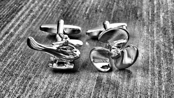 Helico and Propeller Cufflinks
