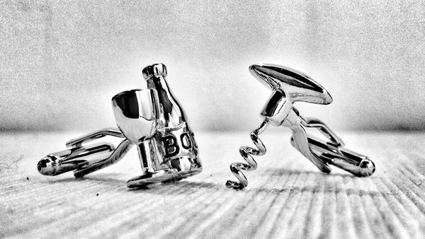 Proud Alcoholic Cufflinks