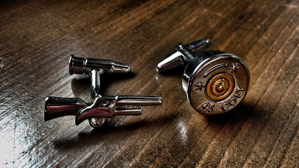 This Here, Sport, Is A Gun Cufflinks