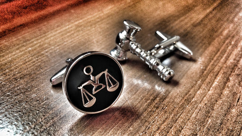 Scales of Justice and Judge Cufflinks