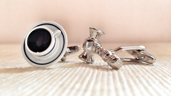 Coffee and Judge Cufflinks