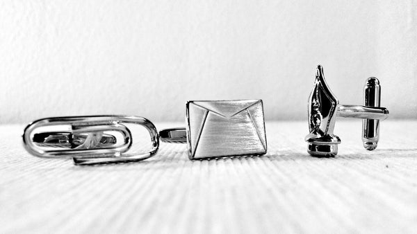 It's a Hard-Knock Life for Writers Cufflink Set