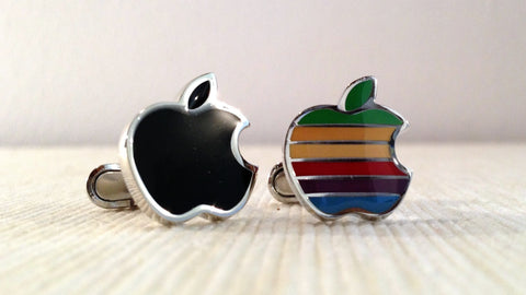 Apple Fanboy Cufflinks