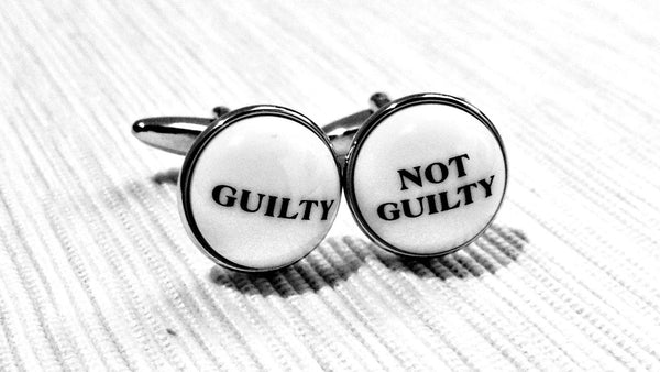 To Feel or Not To Feel (Guilty) Cufflinks