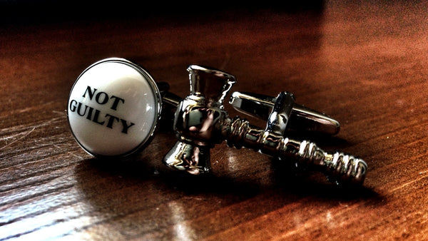 Plead Not Guilty Cufflinks