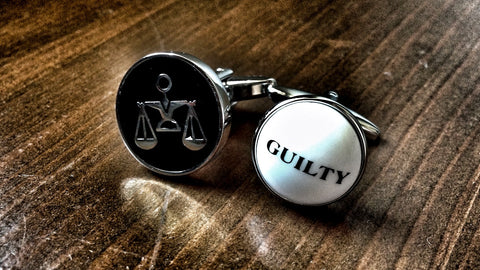 Guilty Pleasures Cufflinks