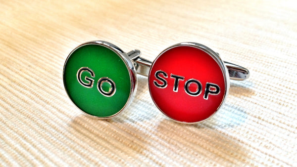 Stop and Go Cufflinks
