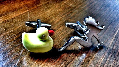 Girl Toy Cufflinks