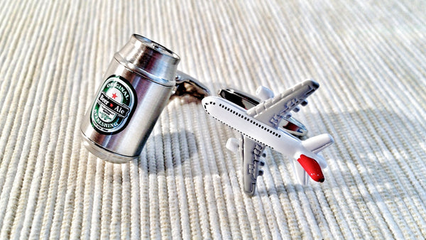 Snakes on a Plane Cufflinks