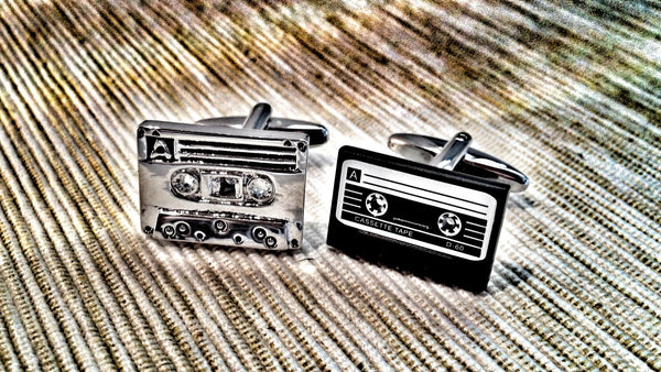 Vintage Tapes Cufflinks