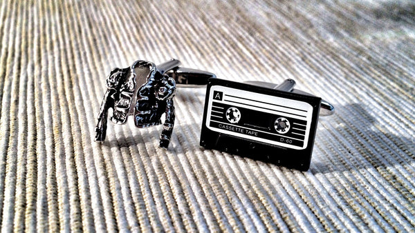 Retro Michael Cufflinks