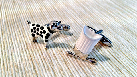 Johnny the Dalmatian Cufflinks