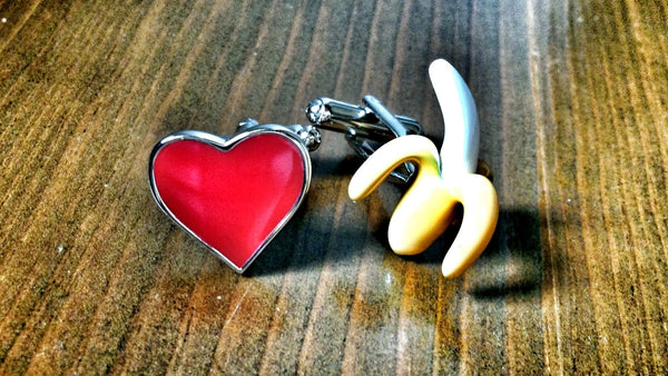 I Love Bananas Cufflinks