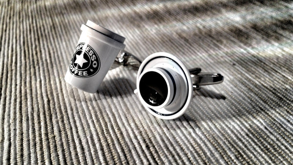 Coffee Addict Cufflinks