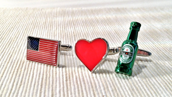 USA: Home of the Drunks Cufflink Set