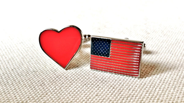 God Bless America Cufflinks