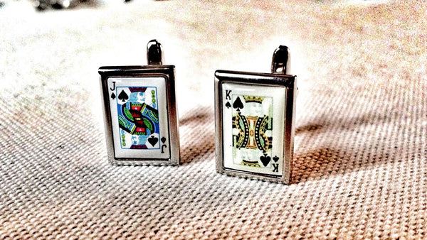 Of Kings and Jack Asses Cufflinks