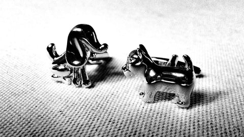 A Dog's Tale Cufflinks