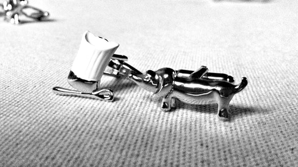 Michelin Dog Cufflinks