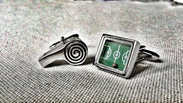 Indoor Soccer Cufflinks