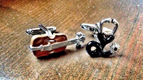 Musician and Doctor Cufflinks