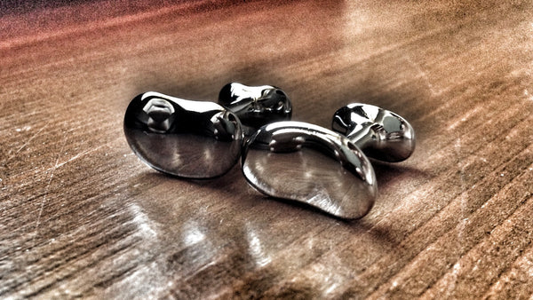 Bean Shapped Cufflinks