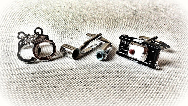 Busted Druggie Cufflink Set