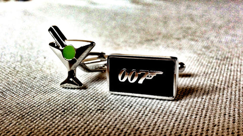 James Bond's Martini Cufflinks