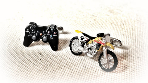 Supercross Cufflinks