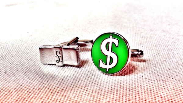 It's All About The Money Cufflinks