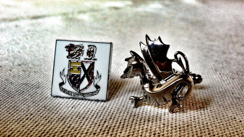 Wicked Sick Dragon Cufflinks