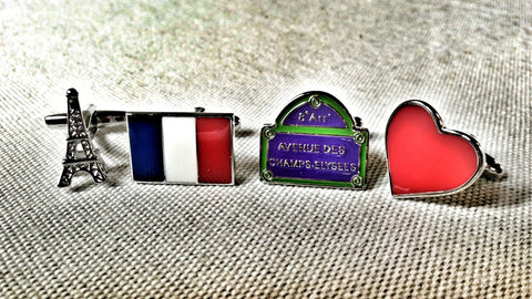 It's All About France Cufflink Set