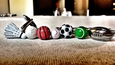 Ball Game Cufflink Set