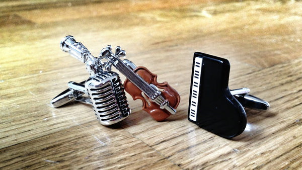 Jazz Trio Cufflink Set
