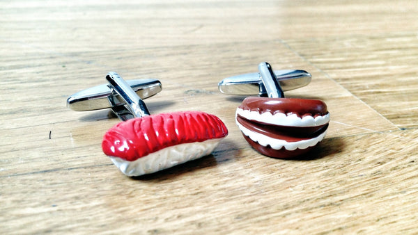 Melt In Your Mouth Sushi Cufflinks
