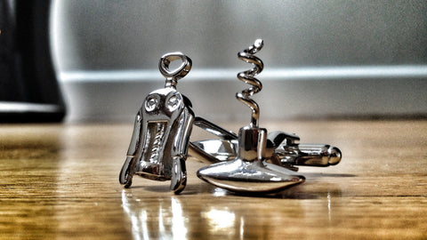 Cork Screws Cufflinks