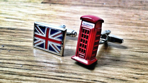 British Symbols Cufllinks