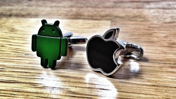 Android or Apple Cufflinks