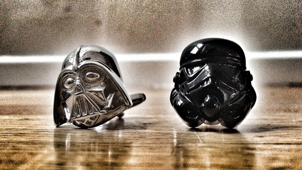 Star Wars: B&W Cufflinks