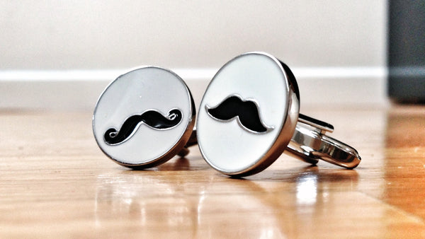 I Moustache You a Question Cufflinks