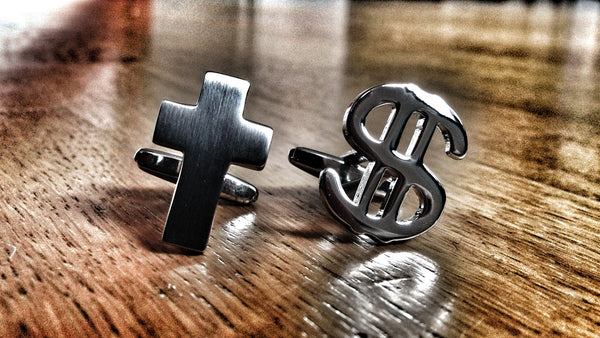 Church and Money Cufflinks