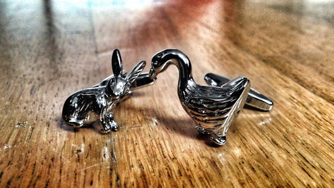 Hunter or Hunted Cufflinks