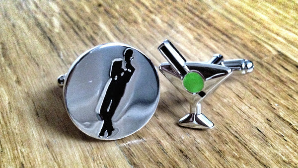 Shaken, Not Stirred Cufflinks