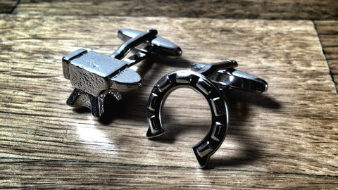 Anvil and Horse Shoe Cufflinks